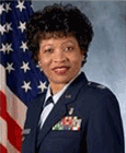 Retired U.S. Air Force Colonel Deborah Scott Thomas